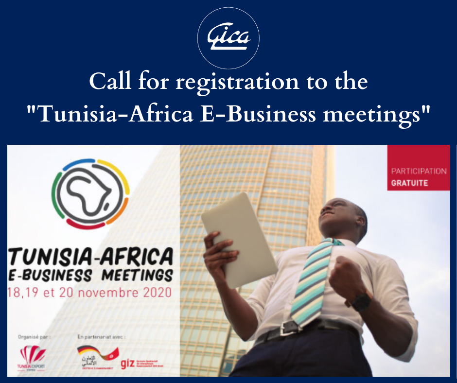 """Registration to the """"Tunisia-Africa E-Business Meetings"""". 22-10-2020"""
